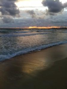 Sonnenuntergang über der Playa de Palma