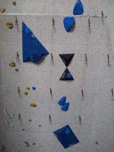 Blau 9-/9 im Wettkampfbereich