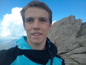 Selfie am Gipfel der Ahornspitze