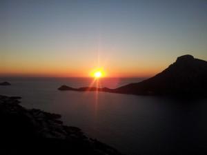 Sonnenuntergang auf Kalymnos
