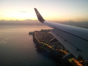 Landung in Antalya