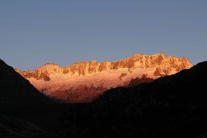 Gletscher über der Göschener Alp
